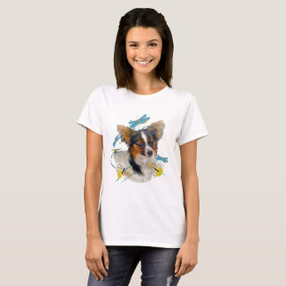 Papillon And Dragonflies T-shirts