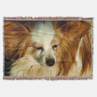 Papillon Beauty   -   Dog Breed Throw Blanket