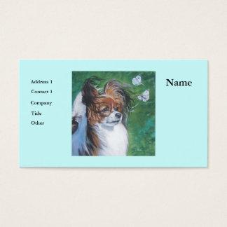 Papillon Business Cards