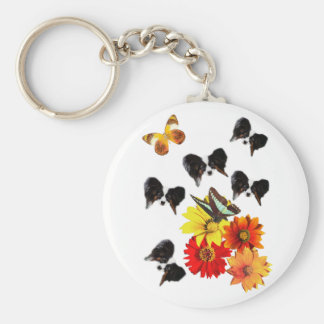 Papillon Butterfly Gifts Keychain