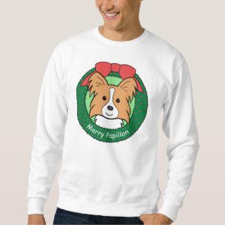 Papillon Christmas Sweatshirt