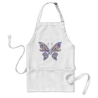 Papillon coloré tablier