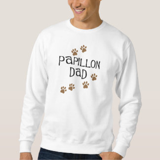 Papillon Dad Sweatshirt