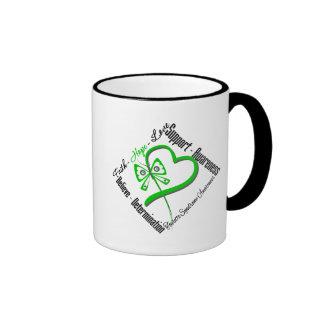 Papillon d'amour d'espoir de foi - syndrome de Tou Tasses À Café