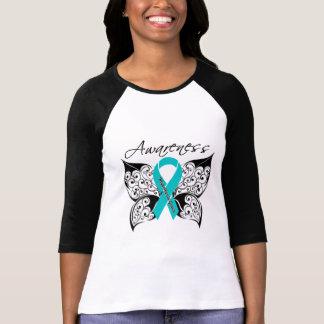 Papillon de conscience de myasthénie gravis t-shirts
