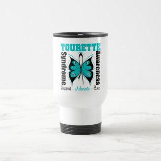 Papillon de conscience de syndrome de Tourette Tasse À Café