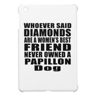 PAPILLON DOG BEST FRIEND DESIGNS iPad MINI COVER