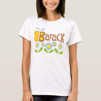 Papillon et fleurs de Barack T-shirt