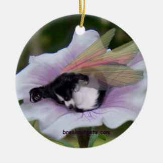 Papillon Fairy Ornament