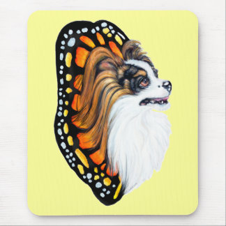 Papillon Fantasy Wings Mouse Pad