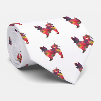 Papillon Geometric Pattern Modern Silhouette Tie
