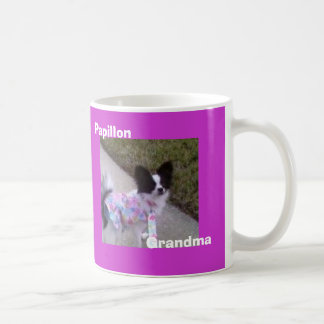 Papillon, Grandma Coffee Mug