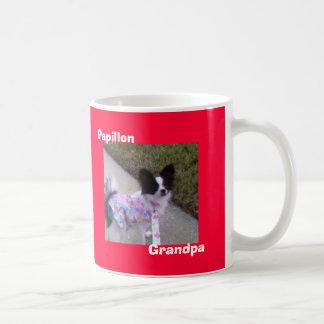 Papillon, Grandpa Coffee Mug