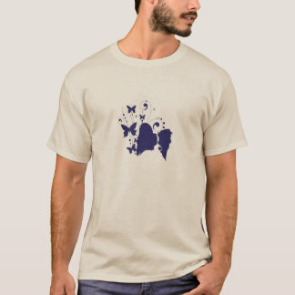 Papillon Head Silhouette T-Shirt
