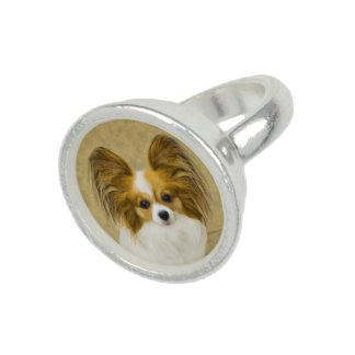 Papillon (Hound Tri Color) Rings