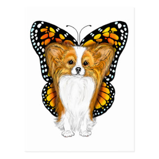 Papillon in Disguise Postcard