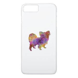 Papillon in watercolor iPhone 8 plus/7 plus case