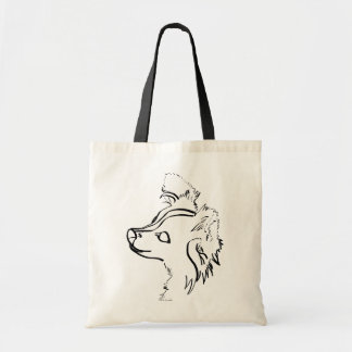 Papillon Inking Tote Bag