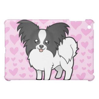 Papillon Love (add your own pern) iPad Mini Cover