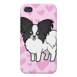 Papillon Love (add your own pern) iPhone 4 Covers