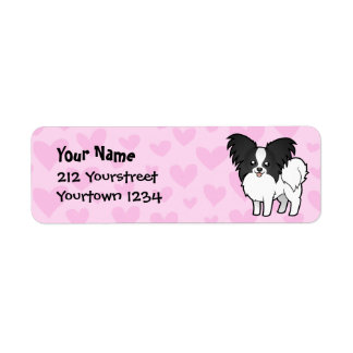Papillon Love Return Address Label