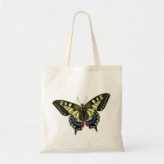 Papillon Machaon Swallowtail Butterfly Tote