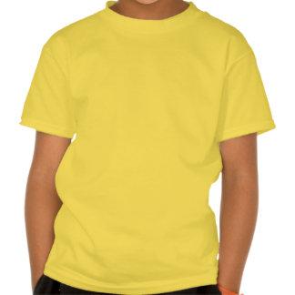 Papillon orange et jaune t-shirts