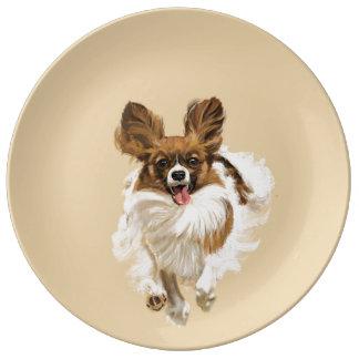 Papillon Porcelain Plate