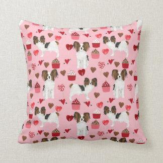 Papillon Valentines Love pillow
