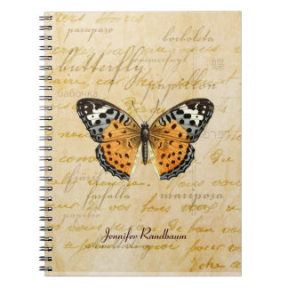Papillon Words Notebook