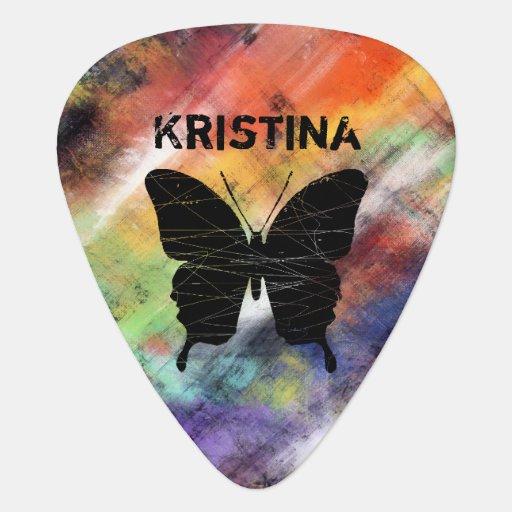 Papillons artistiques onglet de guitare