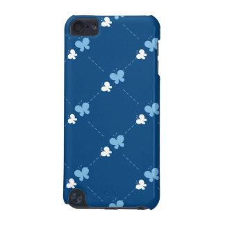 Papillons bleus mignons coque iPod touch 5G