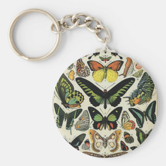 Papillons Keychain