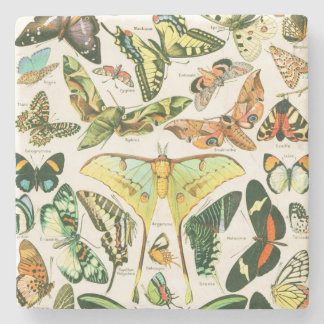 Papillons Stone Coaster