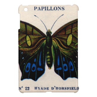 Papillons Vintage Butterfly design iPad Mini Covers