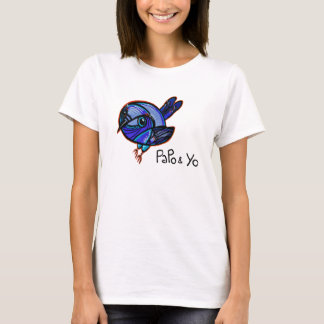 Papo and Yo Graffiti Bird T-shirt