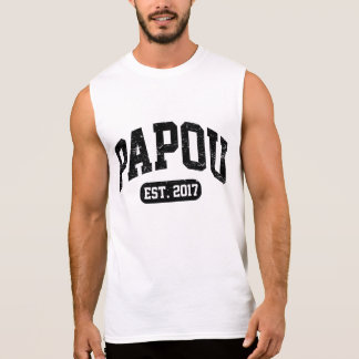 Papou Est. 2017 Sleeveless Shirt