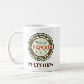 Papou Personalized Office Mug Gift