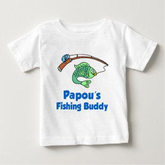 Papou's Fishing Buddy Baby T-Shirt