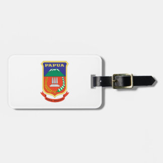 Papua Flag Luggage Tag
