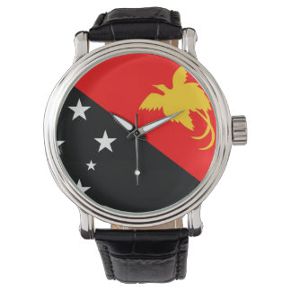 Papua New Guinea country flag nation symbol Watch