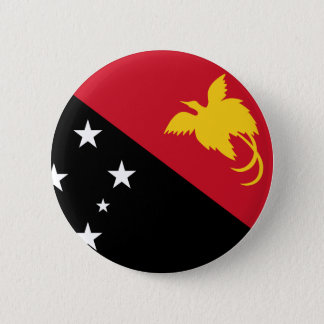 Papua New Guinea Flag 2 Inch Round Button
