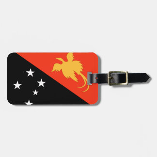 Papua New Guinea Flag Bag Tag