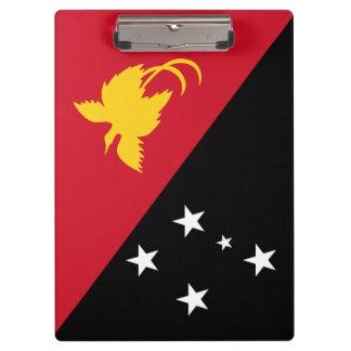 Papua New Guinea Flag Clipboard