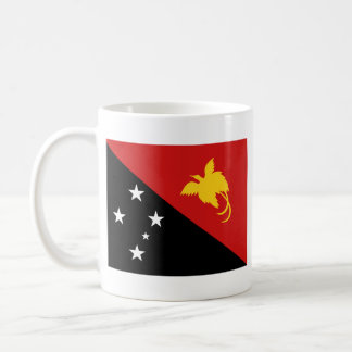 Papua New Guinea Flag ~ Map Mug