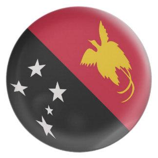 Papua New Guinea flag Plate