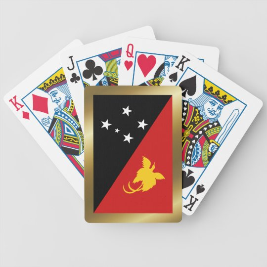 Papua New Guinea Flag Playing Cards