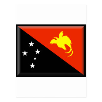 Papua New Guinea Flag Postcard