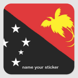 Papua New Guinea flag sticker