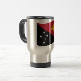 Papua New Guinea Flag Travel Mug